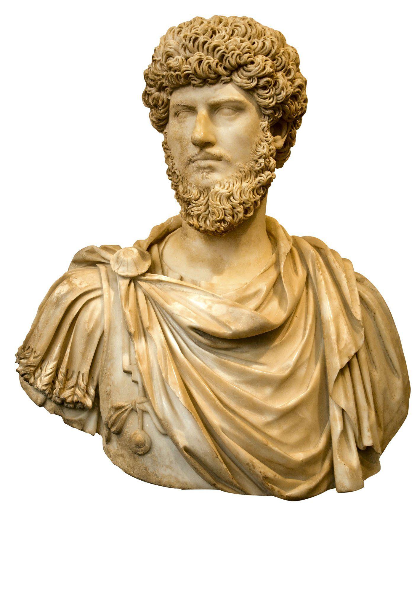 El coemperador de marco aurelio lucio vero busto de for Origen del marmol