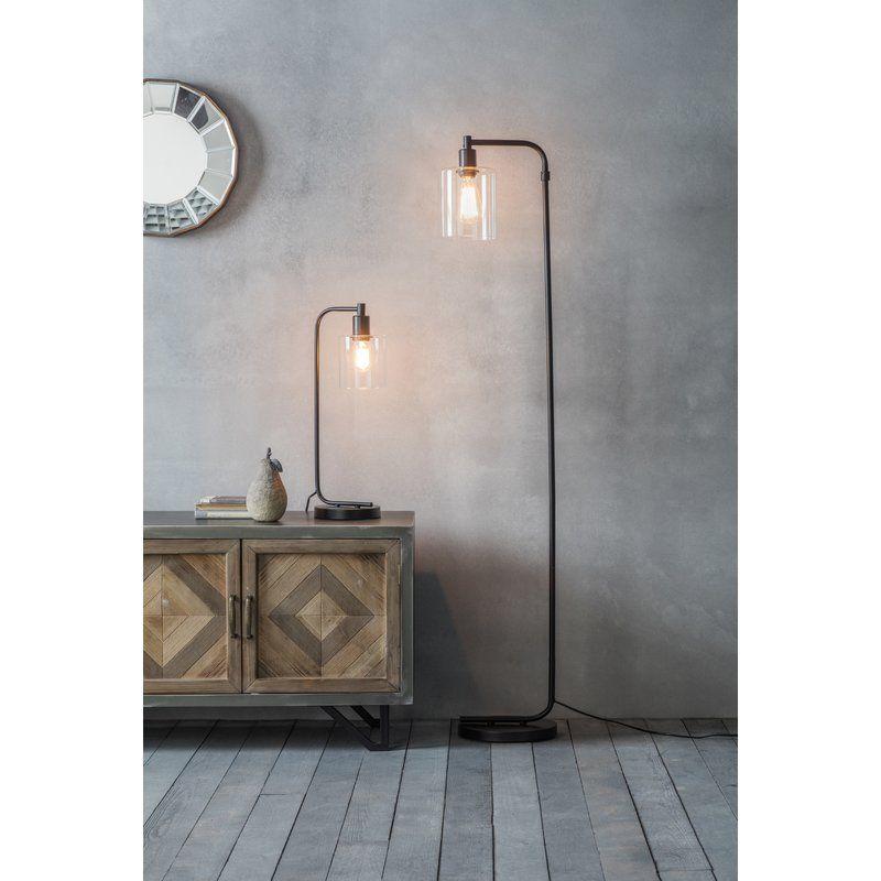Hassa 152cm Task Floor Lamp Tall Floor Lamps Metal Floor Lamps Industrial Flooring