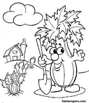 Pritnable Vegetable Toadstool Coloring Page For Childrens Printable Coloring Pages For Coloring Pages Free Printable Coloring Pages Vegetable Coloring Pages