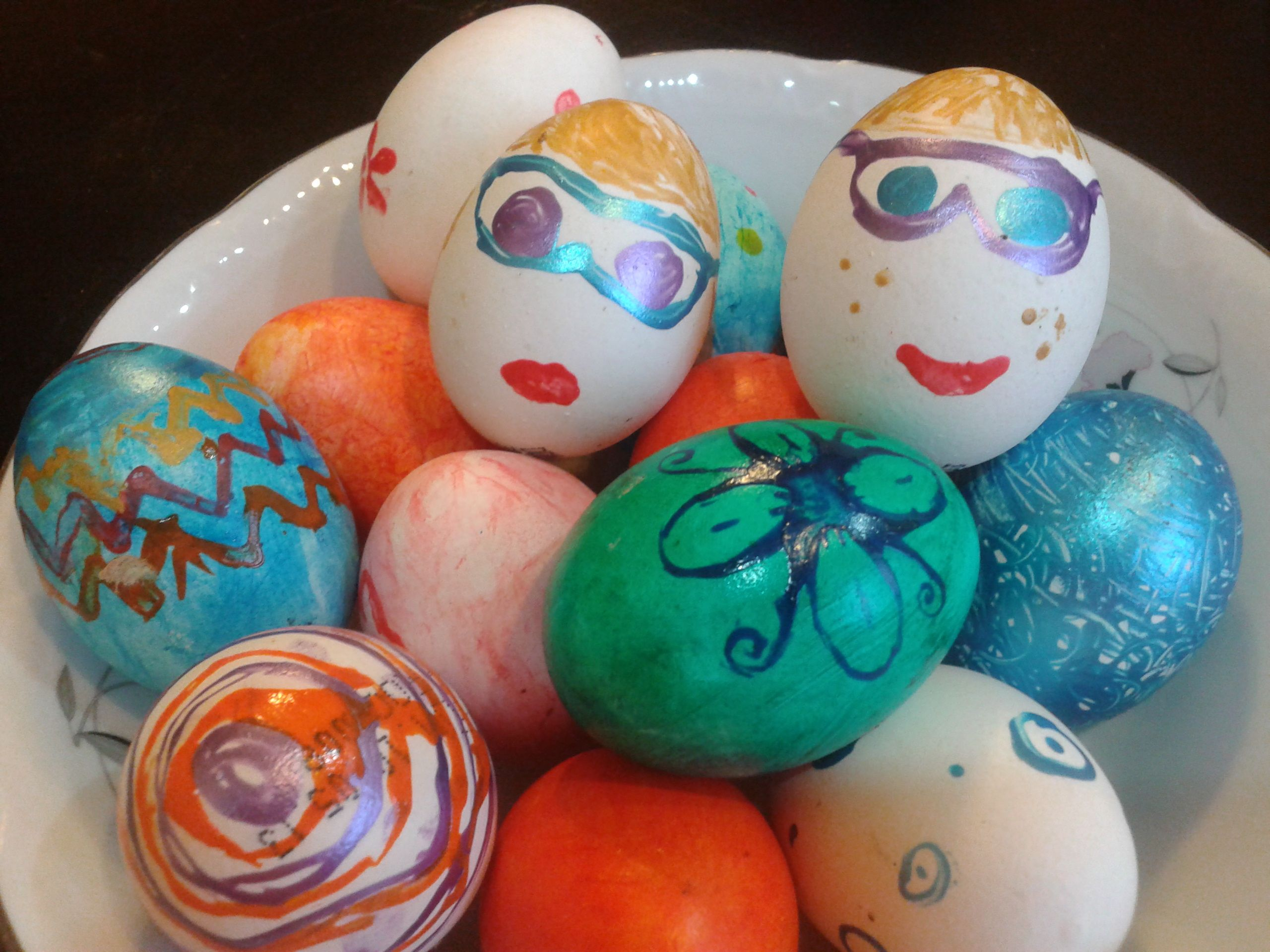 Funky easter eggs easter eggs easter eggs
