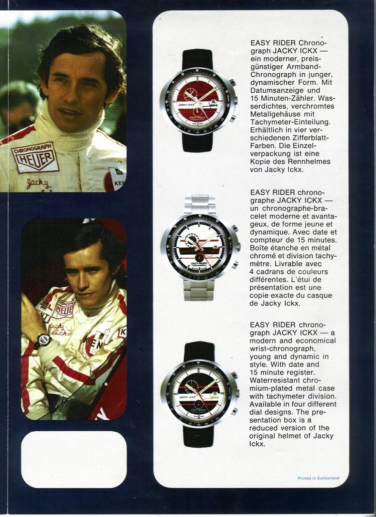 Jacky Ickx Heuer Who Was Jacky Ickx The Man Who Lends His