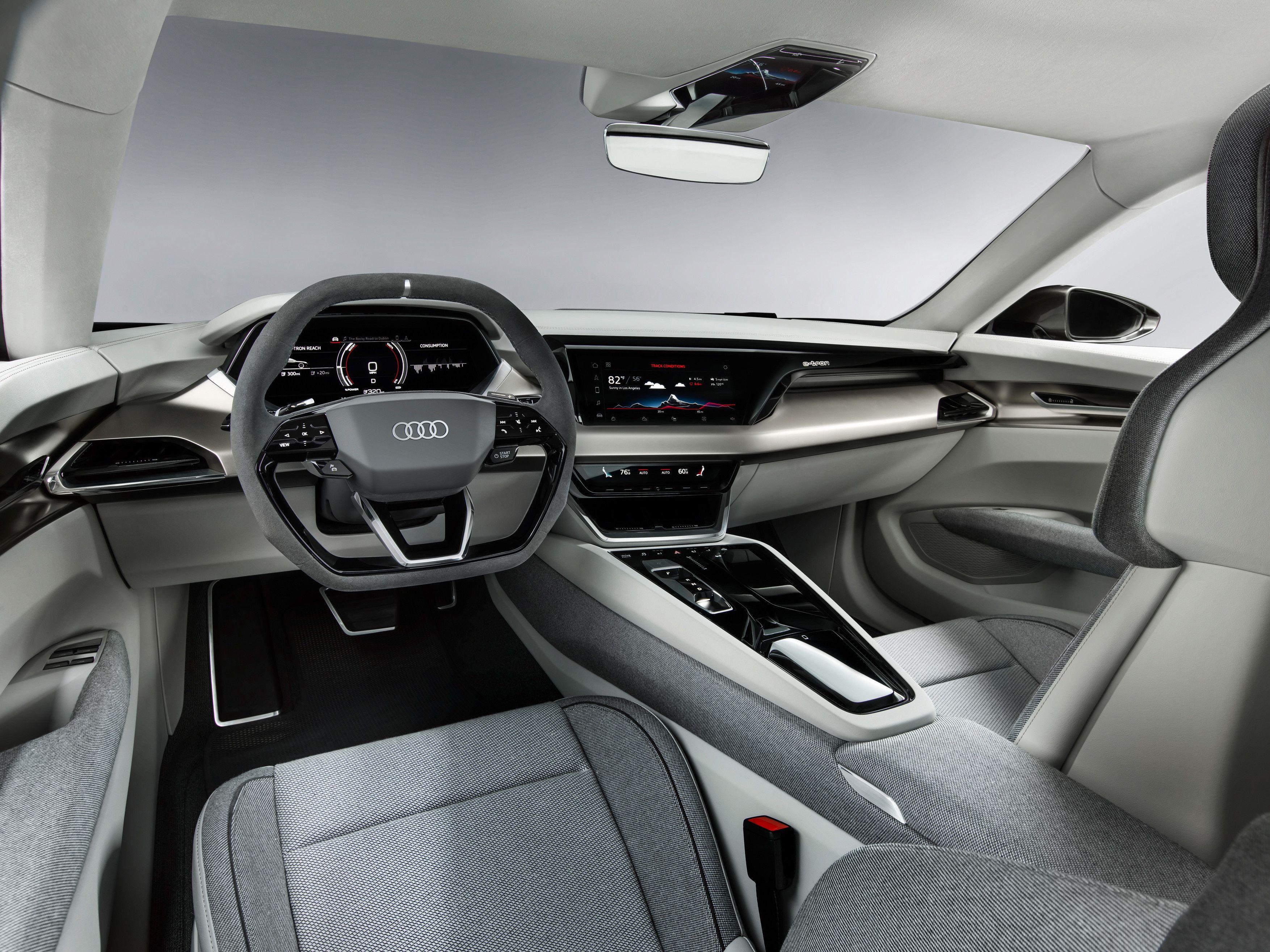Audi E Tron Gt Concept Interior 4k Audi E Tron Gt Concept Interior View Audi E Tron Gt Concept Interior Hd 4k Audi E Tron Gt Concept Audi E Tron E Tron Audi