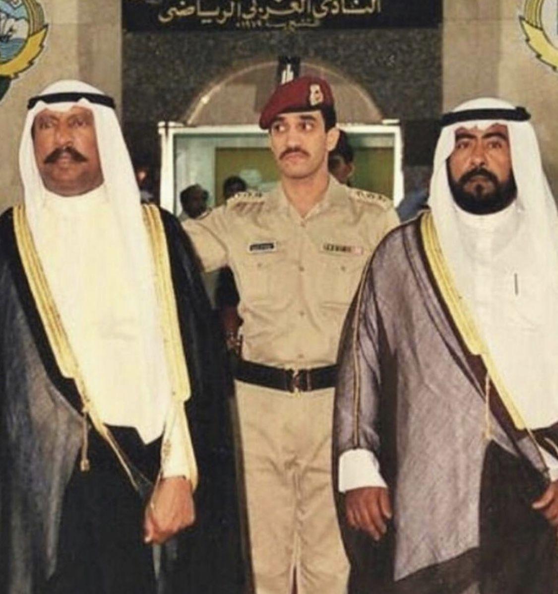 Sheikh Saad Al Abdullah Al Sabah Sheikh Fahd Al Yousef Al Sabah Sheikh Fahd Al Ahmad Al Sabah In 2020 Kuwait Nun Dress Fashion