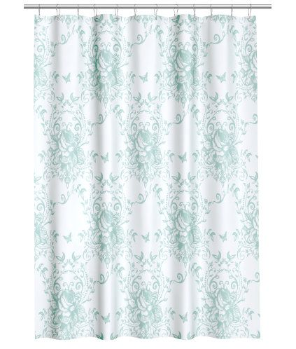 Shower Curtain With A Print