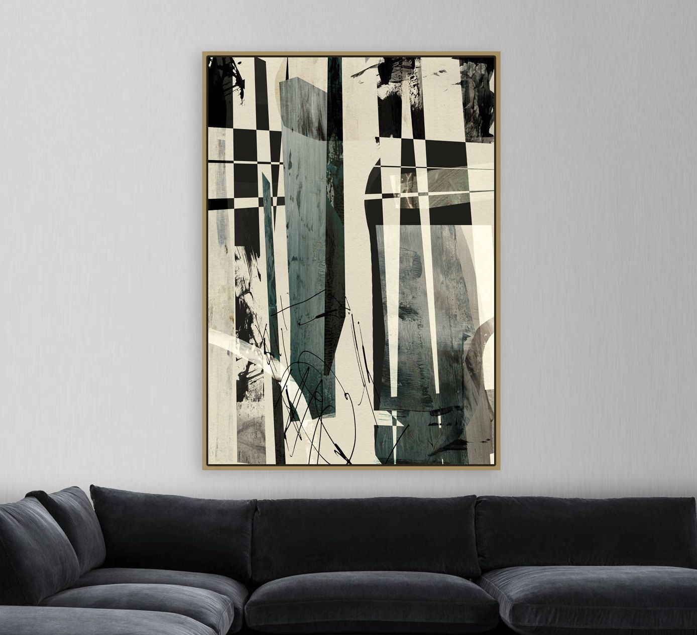 Abstract Printable Art Large Abstract Painting 30x40 Instant Download Art Large Wall Art Statement Art Go Large Abstract Painting Large Wall Art Abstract