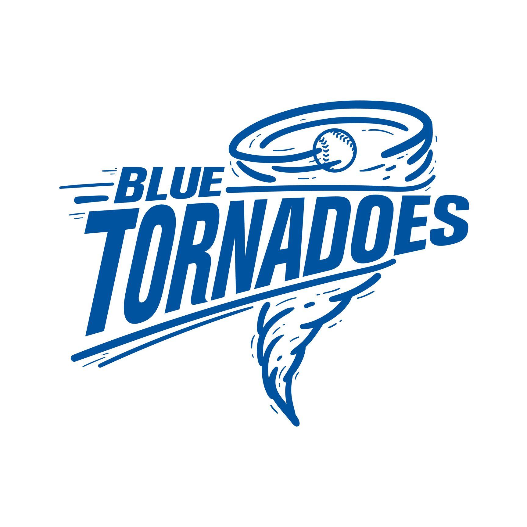 blue tornadoes logo for softball team other things softball logo design ideas Softball Logo Clip Art