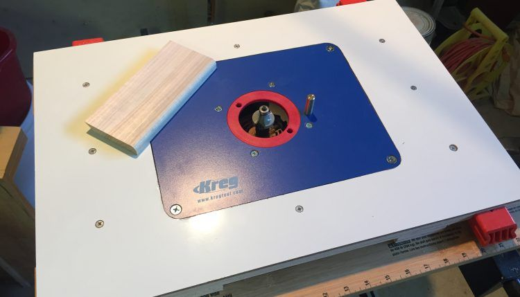 Build a compact router table from a kreg blank plate and a workmate build a compact router table from a kreg blank plate and a workmate greentooth Gallery