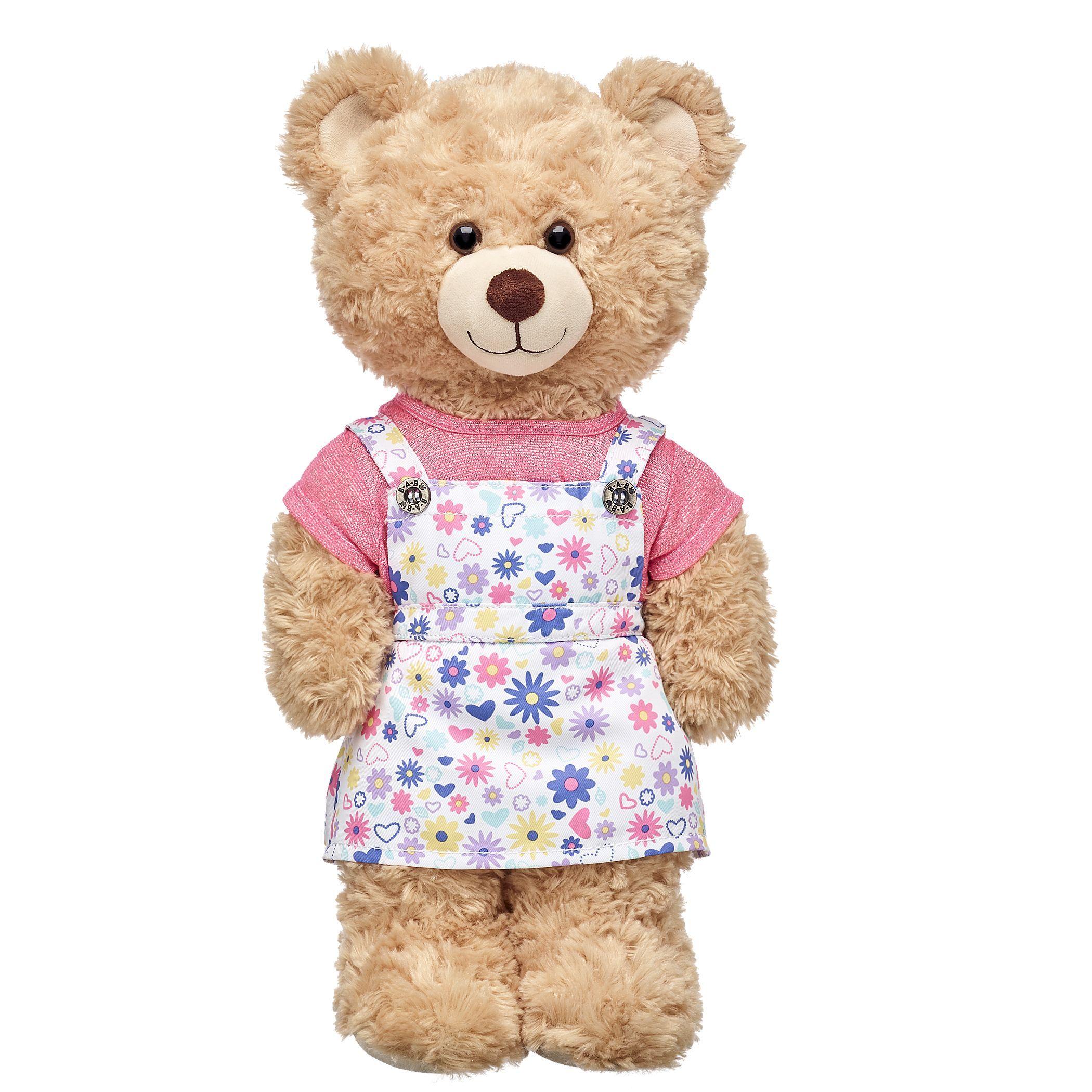 Flower skirtall 2 pc build a bear bear teddy bear