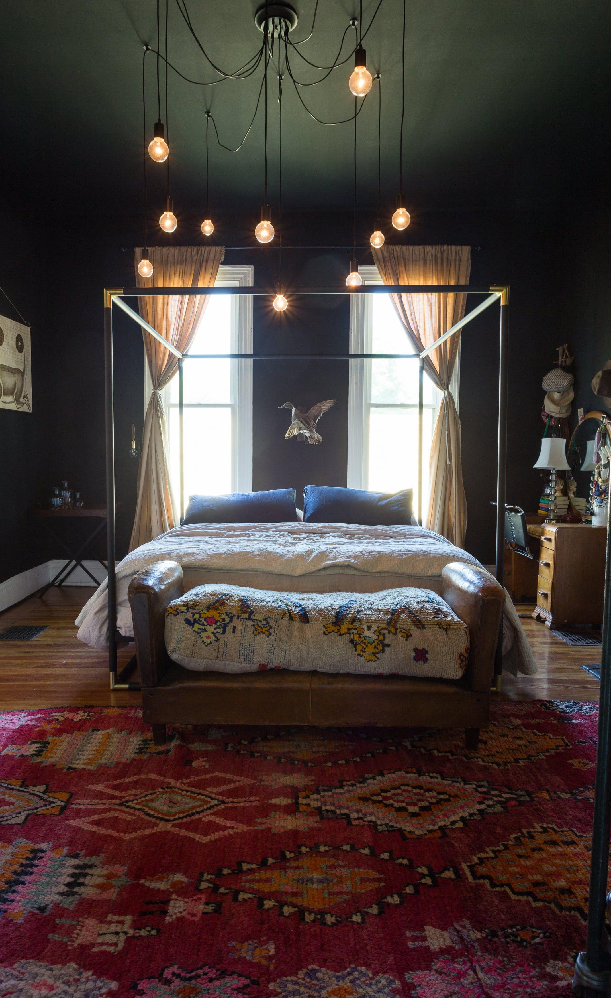 Diy light inspiration from an antique dealers nostalgic bohemian nashville bungalow house
