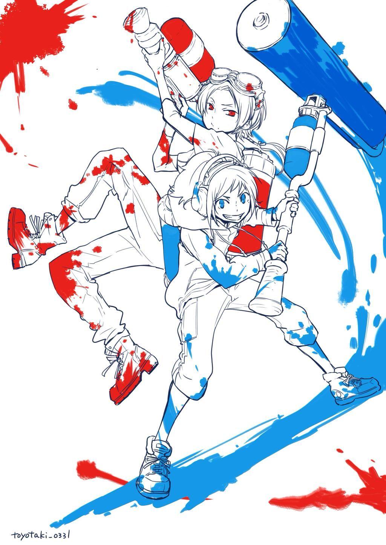 とよたき on twitter touken ranbu anime character design