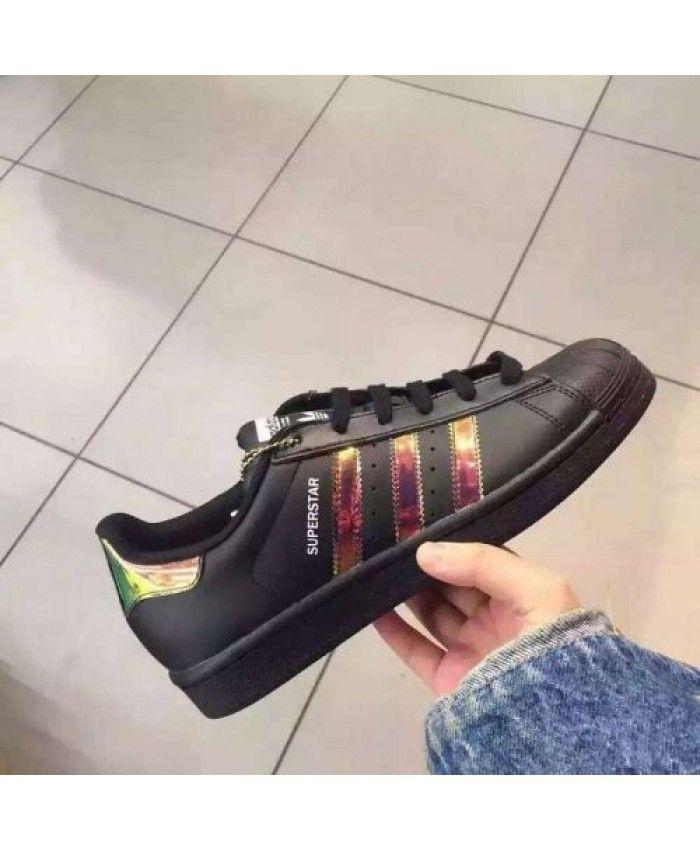 bd158729516 Adidas Superstar Junior Zwart Trainers | adidas-superstar-junior ...