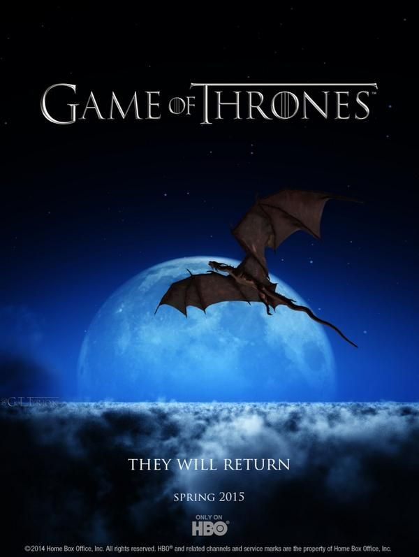hbo promo poster game of thrones