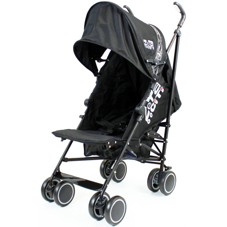 Zeta Citi Stroller Buggy Pushchair Black Baby