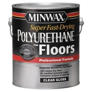 Minwax Super Fast Drying 1 Gal Polyurethane For Floors Gloss 13020 At The Home Depot Mobile Polyurethane Floors Minwax Minwax Polyurethane