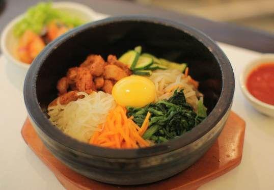 Korean food at Ceena