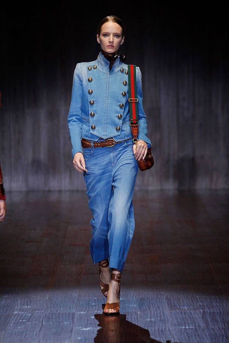 Gucci Spring Summer 2015 Womenswear Collection