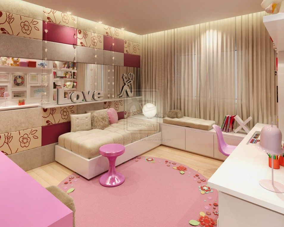 Spectacular Design Extraordinary Small Bedroom Decorating Ideas In Girl  Bedroom Designs The Best Home Improvement Idea