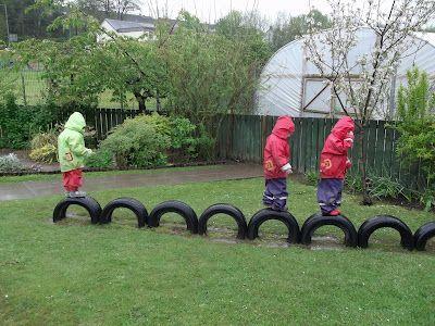 Reciclando llantas ~ Educación Preescolar Cosas para comprar - jardines con llantas