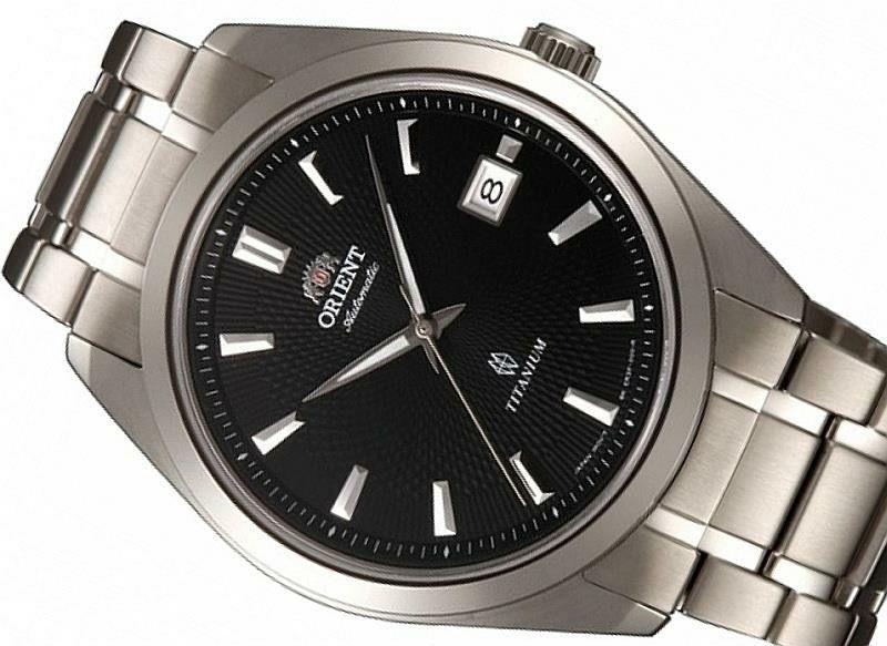 orient fer2f001b0 titanyum 41mm automatic safir cam erkek saat ozensaat watch watches 8718569120009 www ozensaat com