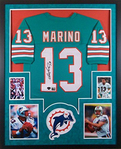 low priced 299b8 58676 Pin by Mister Mancave on Football Framed Jerseys | Miami ...