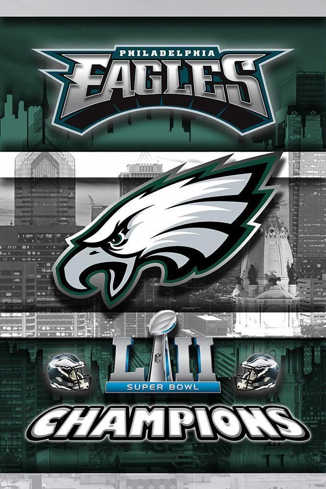 Philadelphia Eagles Super Bowl Championship 2018 Poster