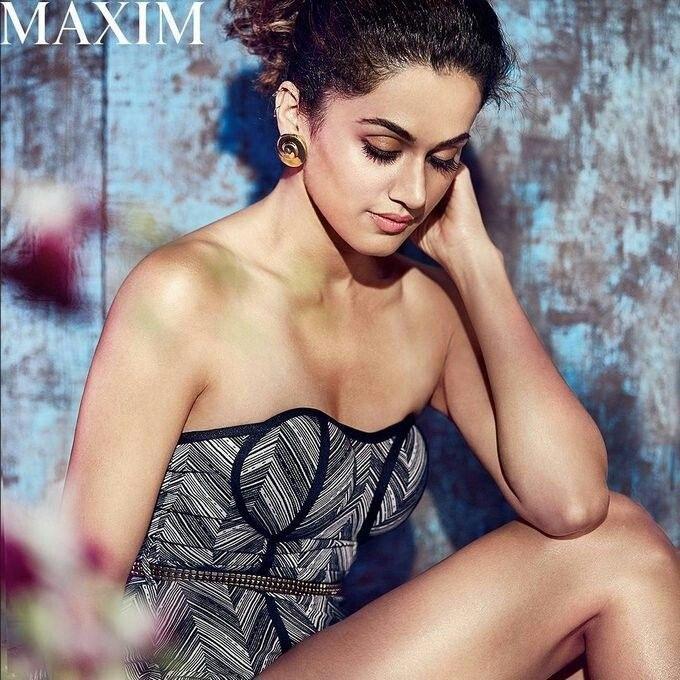 tapsee #tapseepannu #hot #sexy #cleavage #body #bikini #indiangirls
