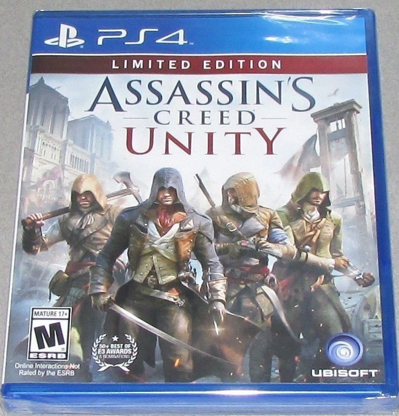 Details About Assassin S Creed Unity Limited Edition Ps4