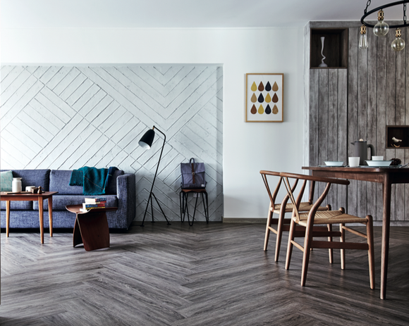 Appreciate The Beauty Of The Raw Finish And Texture Of A Concrete Wall Feature Wall Home Home Decor