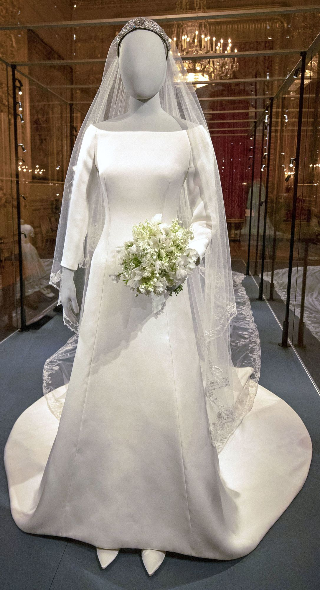 Meghan Markles Wedding Dress Goes on Display  and There