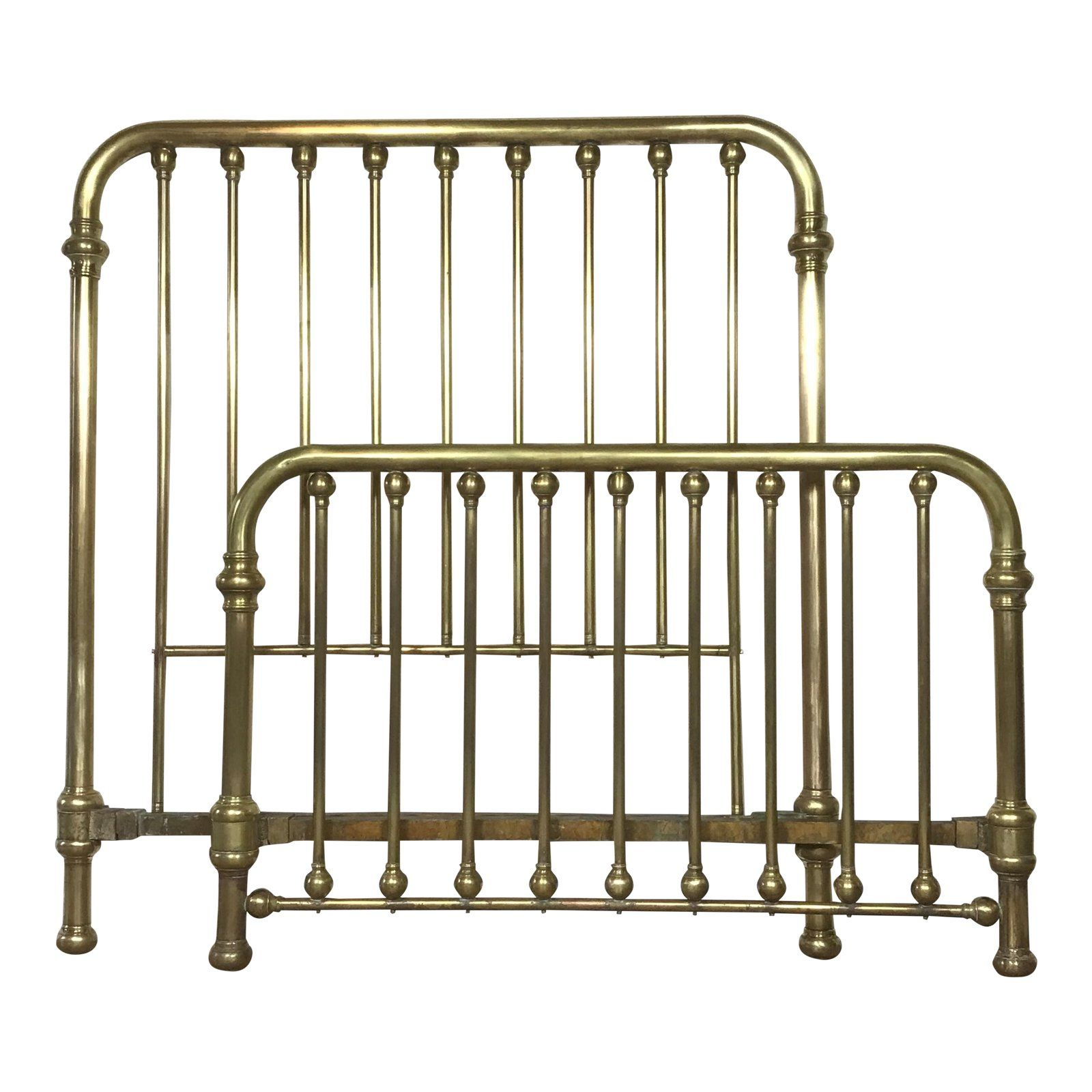 Antique Double Brass Bed Frame Bed Frame Brass Bed Frame Brass Bed