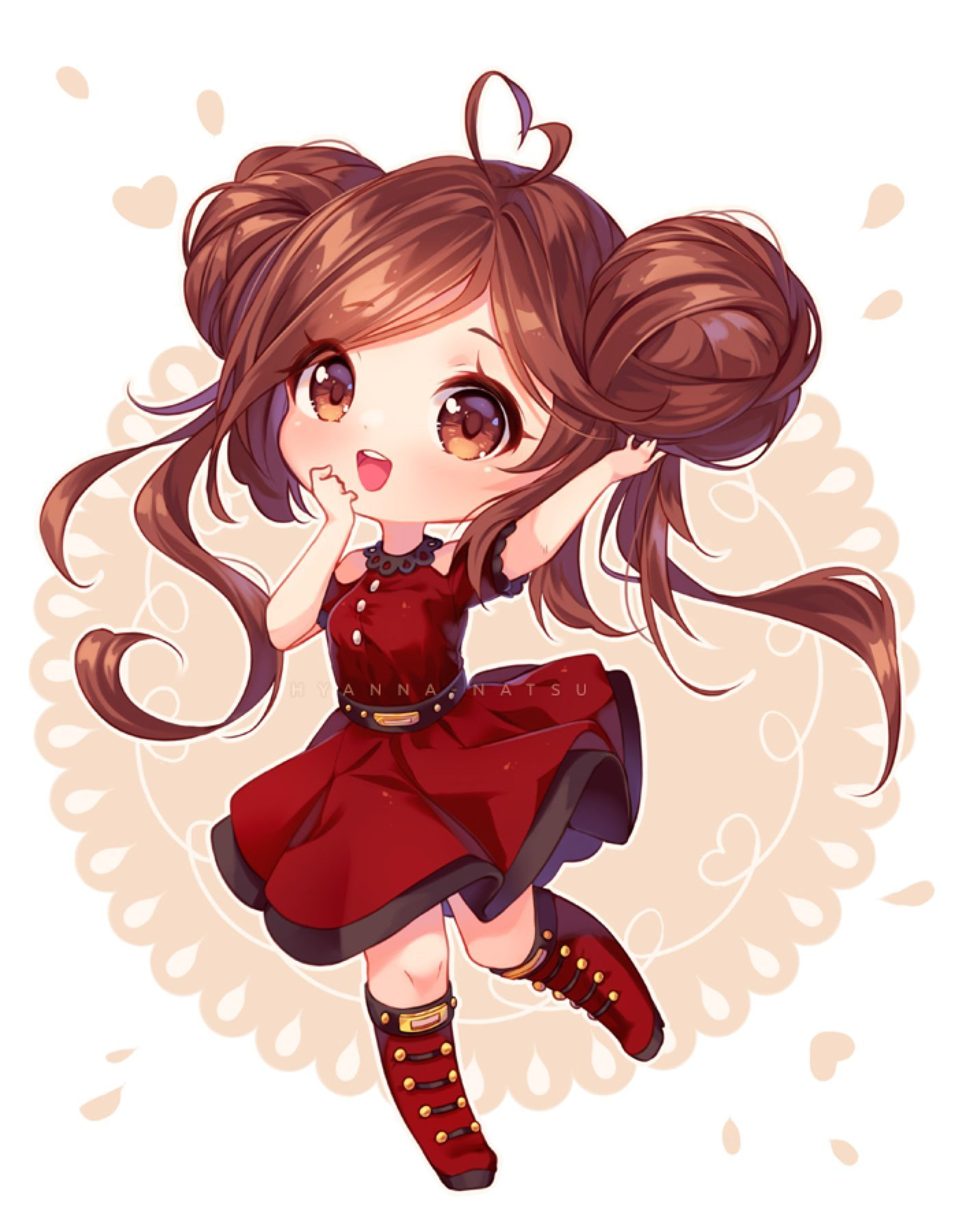 Cute Anime In 2020 Chibi Girl Drawings Chibi Anime Kawaii Cute Anime Chibi