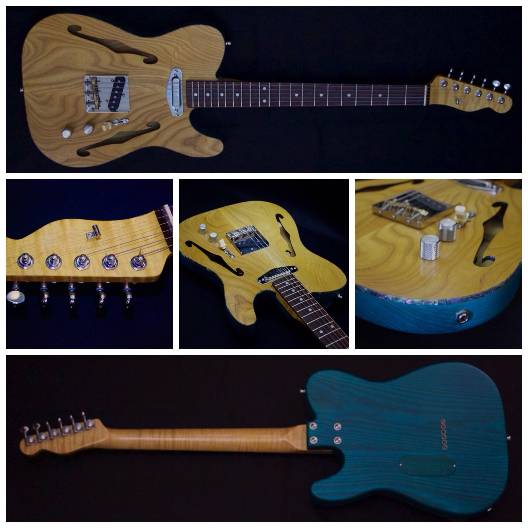 Nocaster Bare Knuckle Pickups Guitars Handcrafted Loxtone Beautiful Guitars Handcraft Telecaster