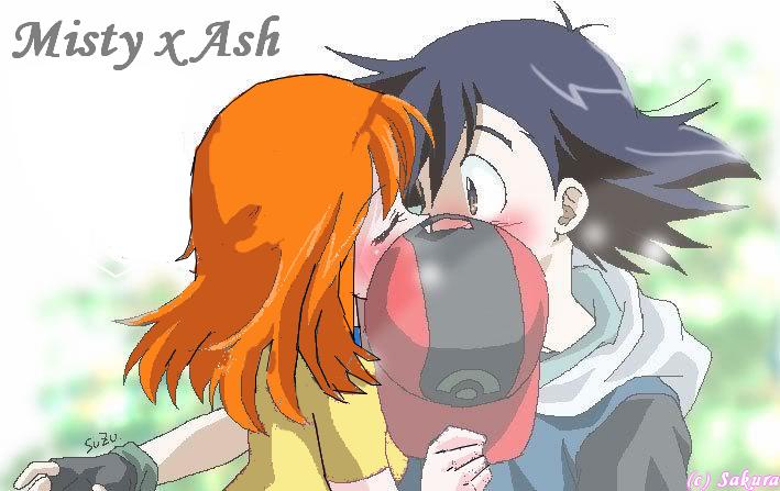 Kissed Pikachus Dick Misty