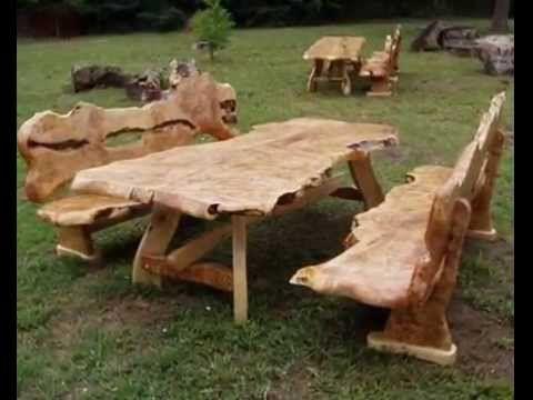 gartenmöbel holz rustikal - google-suche | relaxing | pinterest, Gartenmöbel