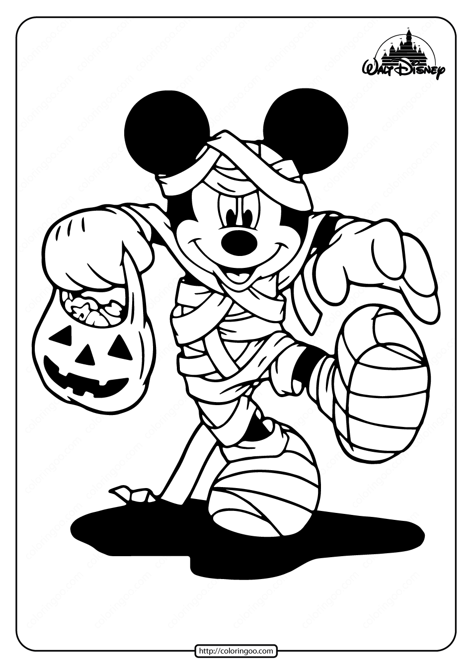 Mummy Mickey Mouse Coloring Pages Mickey Mouse Coloring Pages Mickey Coloring Pages Coloring Pages