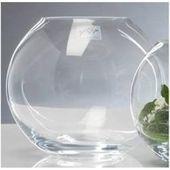 12er Set Kugelvasen, Teelichthalter Globe Kugel Glas H. 15cm D. 17cm Sandra Rich # #