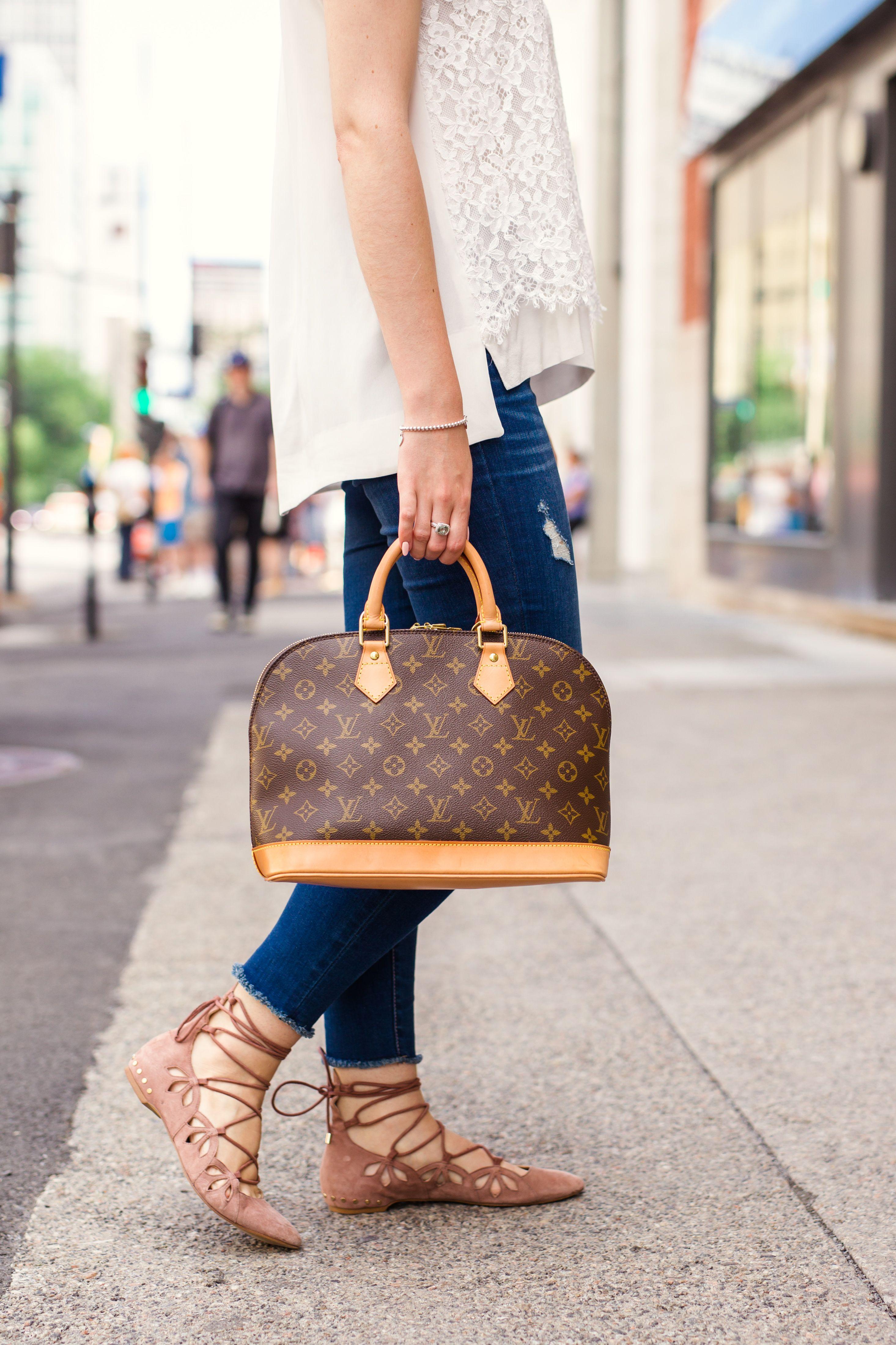 27f945548cd Louis Vuitton Alma PM | Staying in my Luxury Lane | Louis vuitton ...