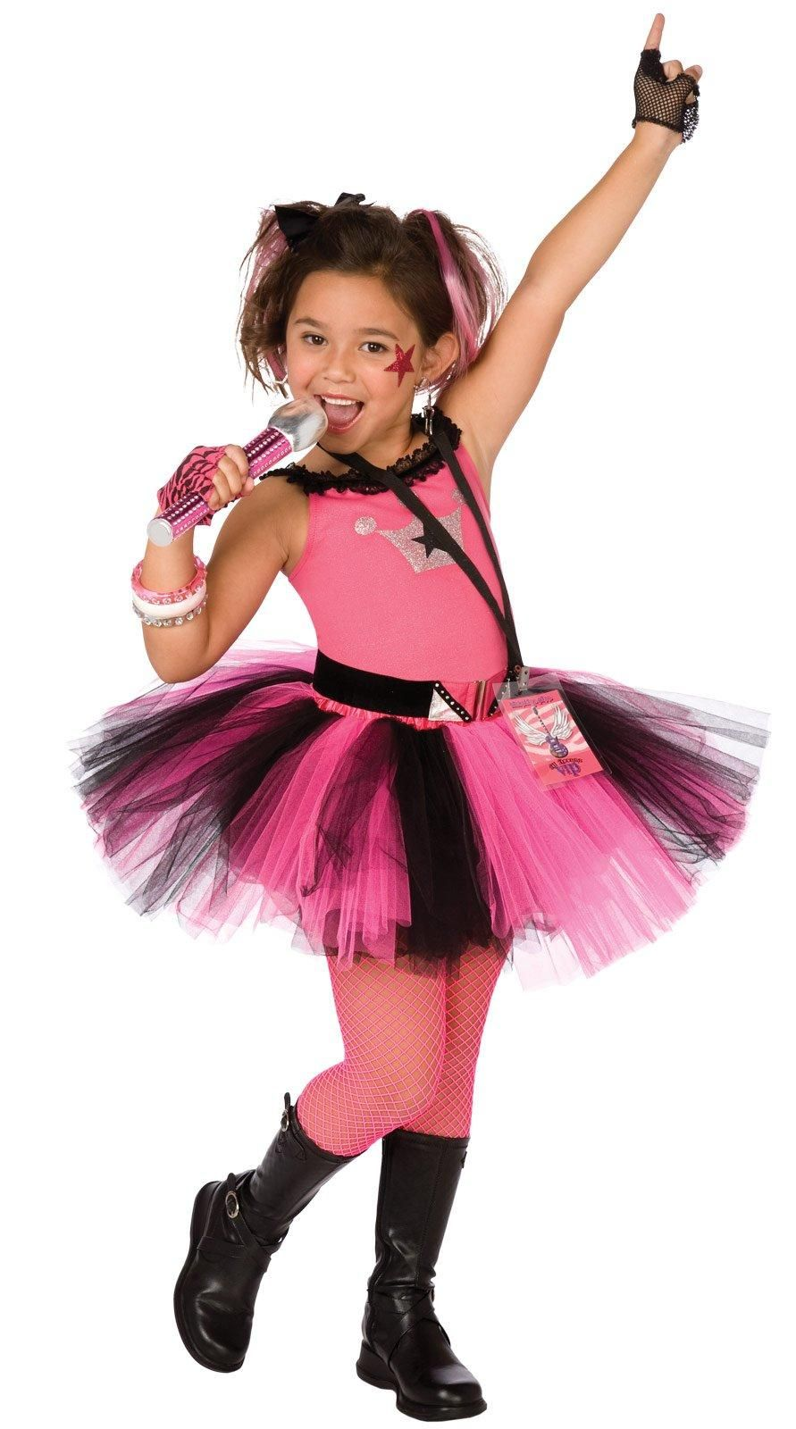 Glam Rocker Child Costume from