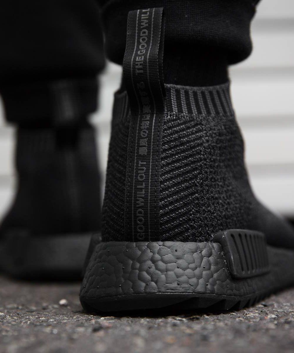 adidas nmd cs1 triple black