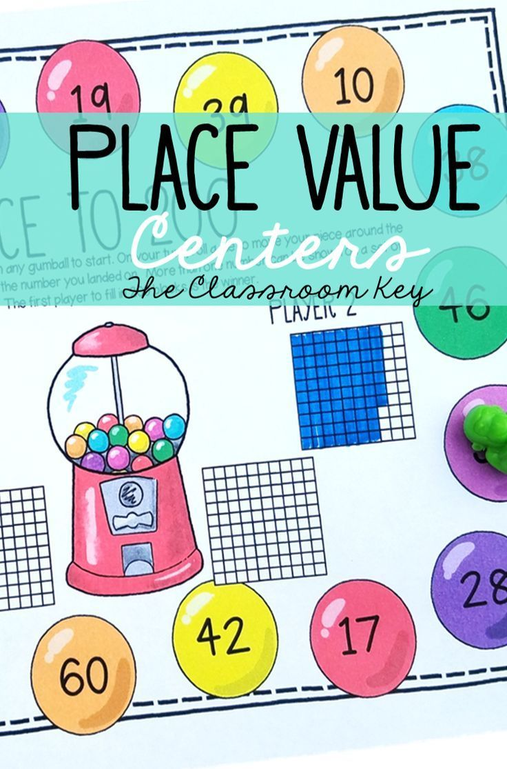Place Value Math Centers | Decomposing numbers, Expanded form and ...
