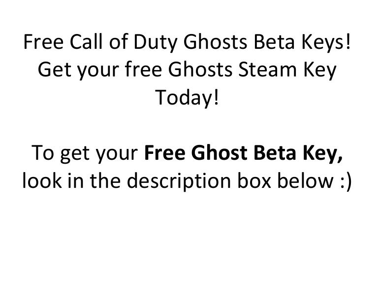 call of duty ghosts cd key free no survey