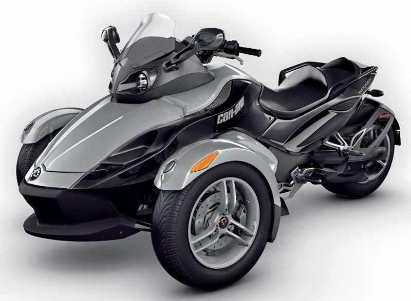 Can Am Spider 3 Wheel Motorcycle