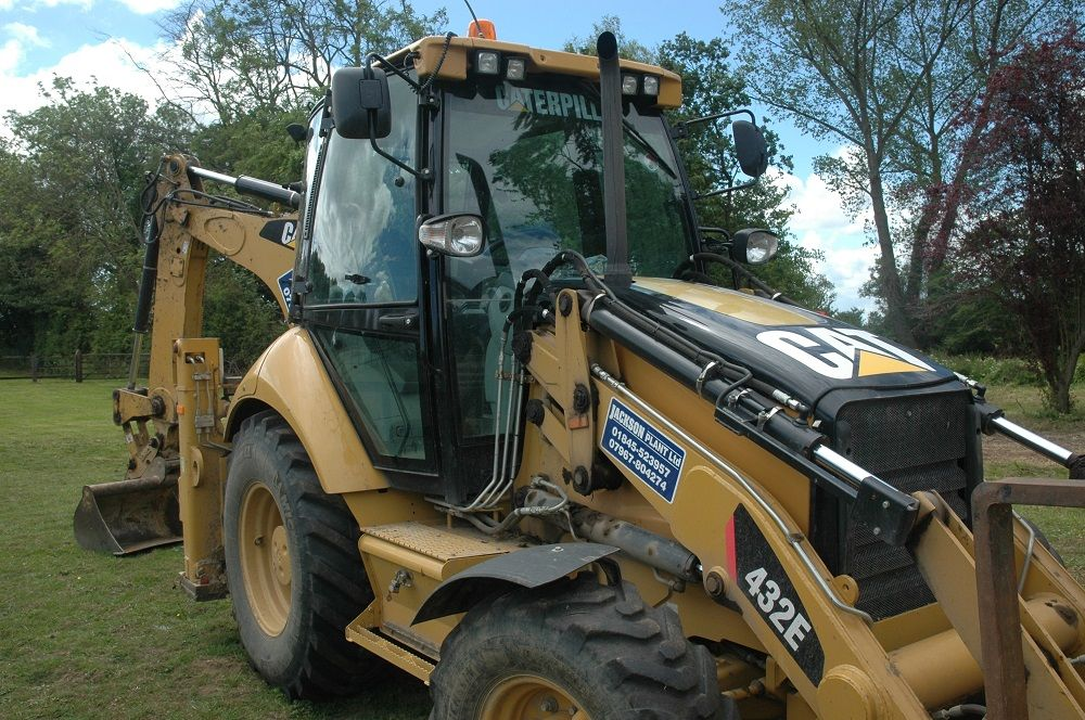 Cat 432e Backhoe Loader Planthire Northyorkshire North Yorkshire Monster Trucks Backhoe Loader
