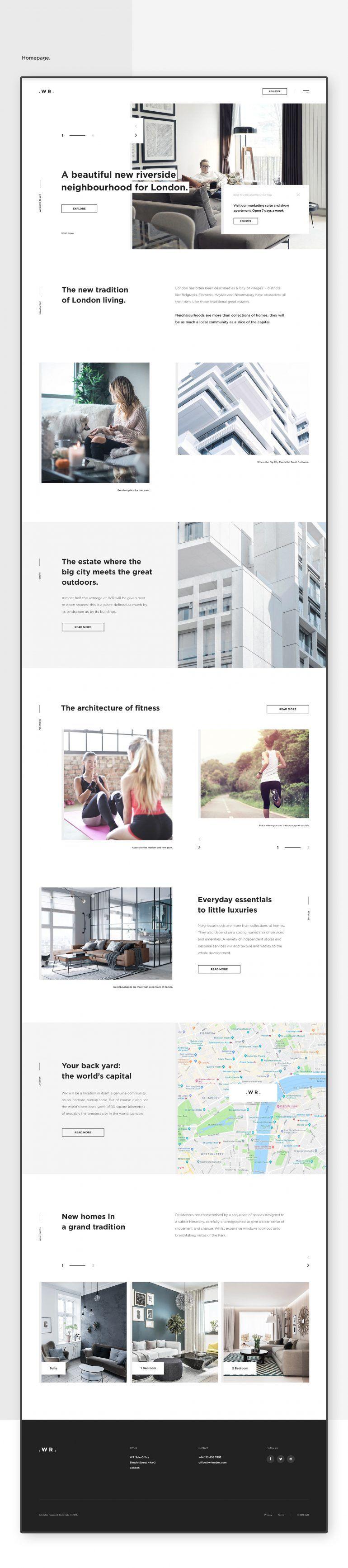Wr Website Project Best Web Design Web Design Inspiration Modern Website