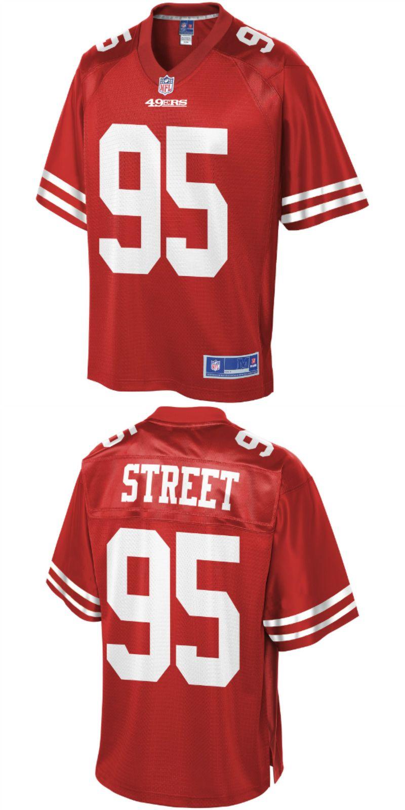 new styles cc7d2 e05df Kentavius Street San Francisco 49ers NFL Pro Line Team ...