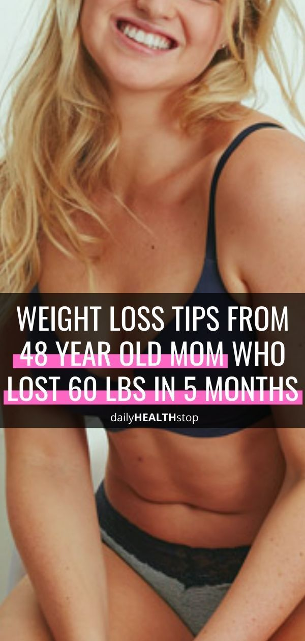 Weight loss tip from 48 year old mom who lost 60 pounds in 5 months | weight loss tips for women ove...