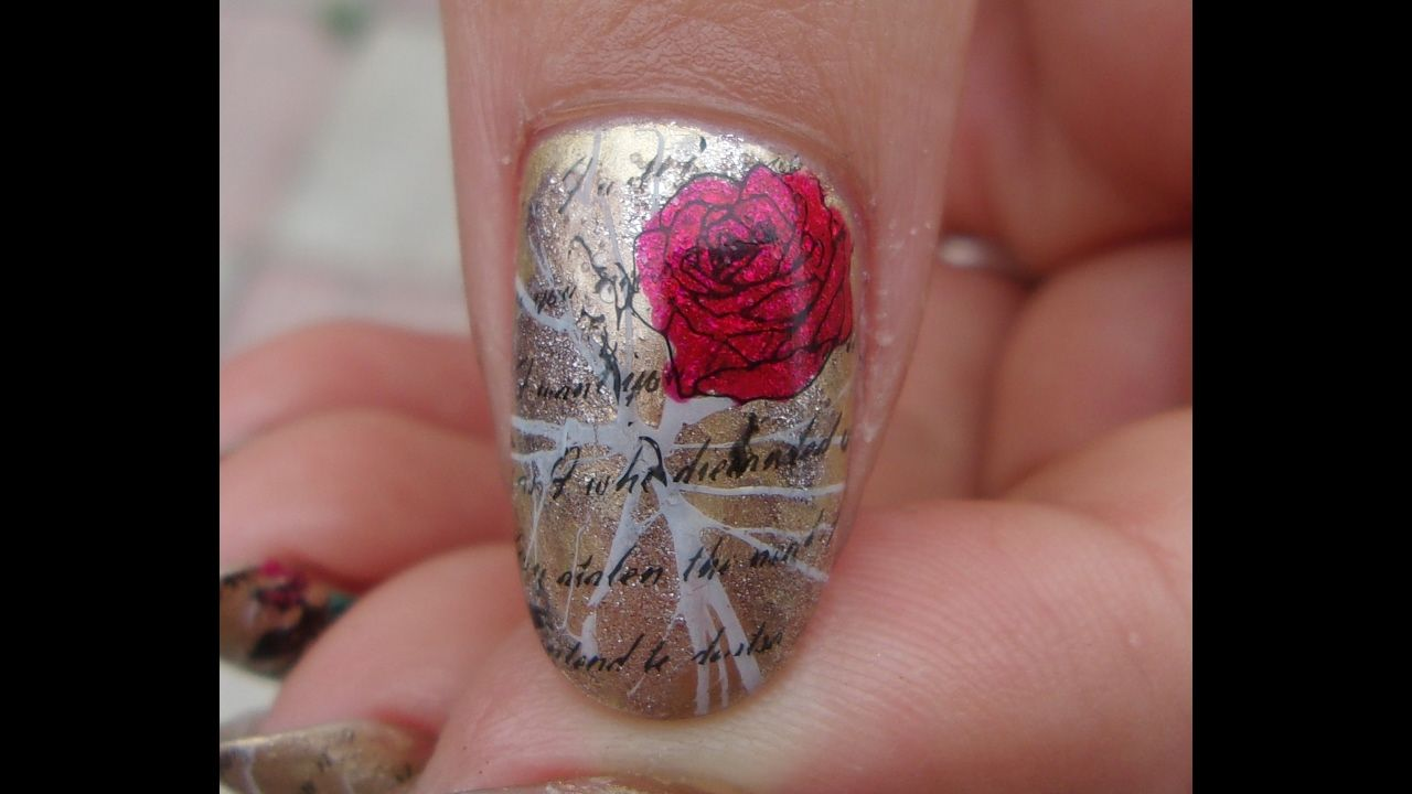 Aliexpress Red Metal Stamper Review ~ Vintage love letters with roses Na...