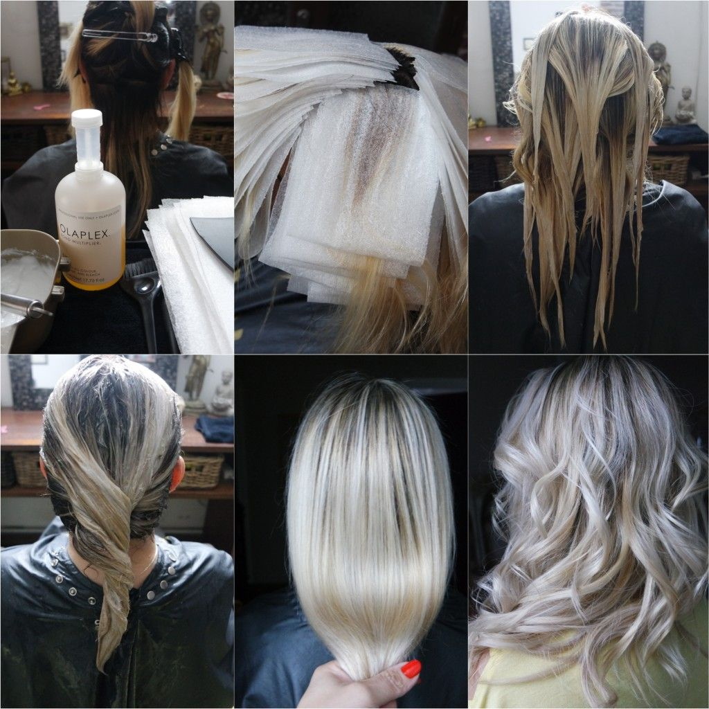 balayage blonde polaire olaplex joico bymia. Black Bedroom Furniture Sets. Home Design Ideas