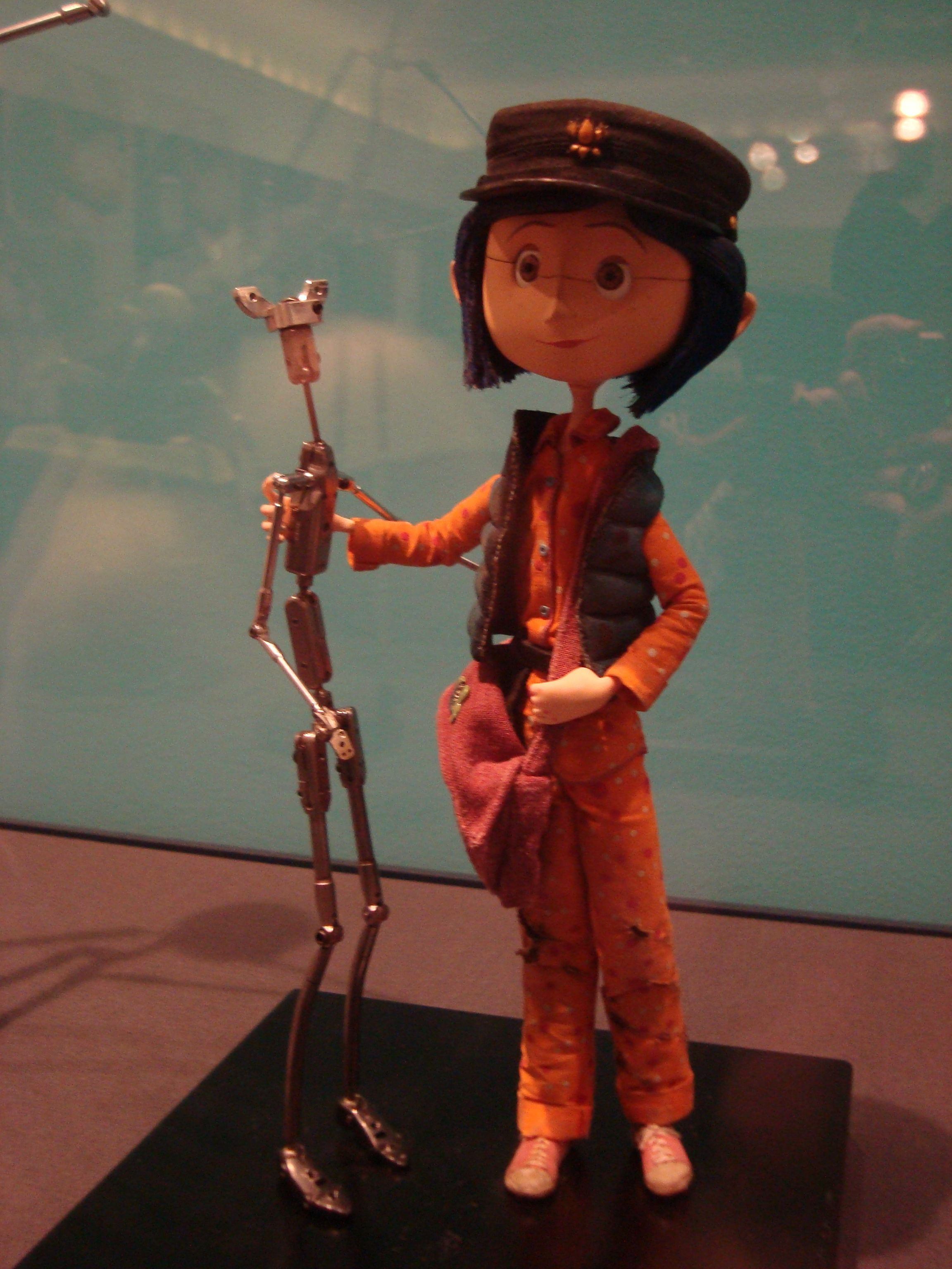 Stop Motion Animation Show At Walt Disney Family Museum Coraline And Her Skeleton Stop Motion Animation Stop Motion Coraline