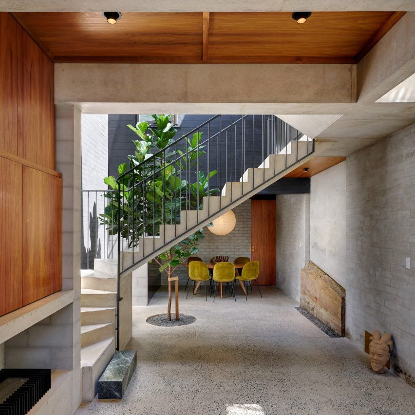 dezeen s top 10 staircases of 2017 stairs australian homes rh pinterest com